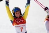 Хансдоттер стала сенсаційною олімпійською чемпіонкою в слаломі