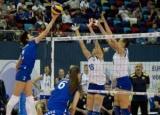 Україна в п'яти сетах поступилася чинним чемпіонкам в першому матчі чемпіонату Європи