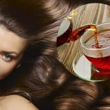 Как применяют чай для волос?