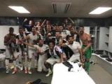 Игроки Ювентуса отпраздновали победу над Барселоной картошкой фри