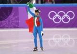 Фонтану вперше стала чемпіонкою Олімпійських ігор в шорт-треку