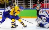 Швеція в овертаймі дотиснула Словаччину і зберегла лідерство в групі