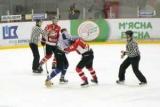 Відео бійки у матчі «Донбас» – «Крижані Вовки»