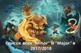 Dota 2. З'явився розклад всіх «Мейджорів» і «майноров» в 2017/2018 роках