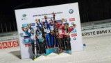 Біатлон: Україна виграла срібло у змішаній естафеті на етапі Кубка світу
