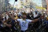 «Голден Стейт» провів чемпіонський парад на честь перемоги в НБА