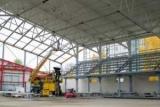 На арені «Айсберг» у Кременчуці почали склити стіни