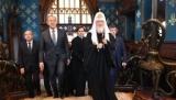 Главный кремлевский поп Кирилл Гундяев жалуется неправославным итальянцам на православных украинцев: