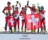 Швейцарія здобула командне золото з гірськолижного спорту