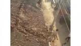 Леопард устроил переполох в индийской деревне